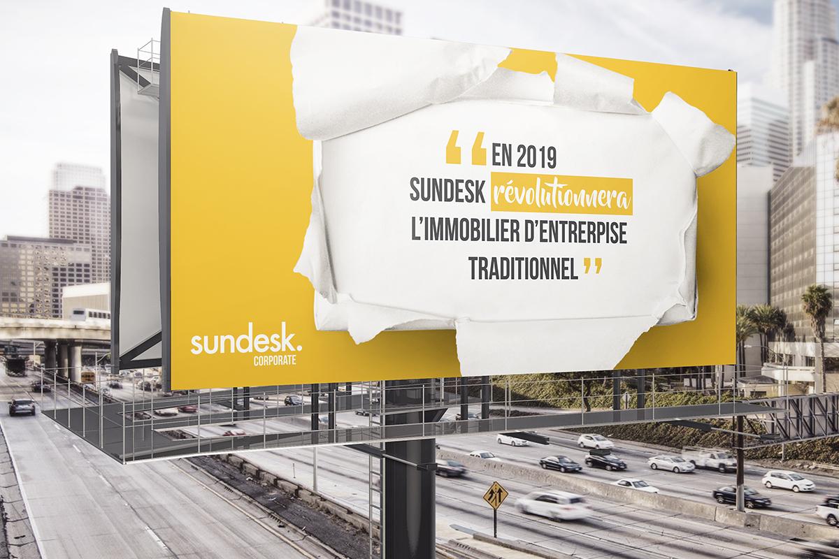 Laissez Sundesk Corporate s'occuper de vos bureaux!